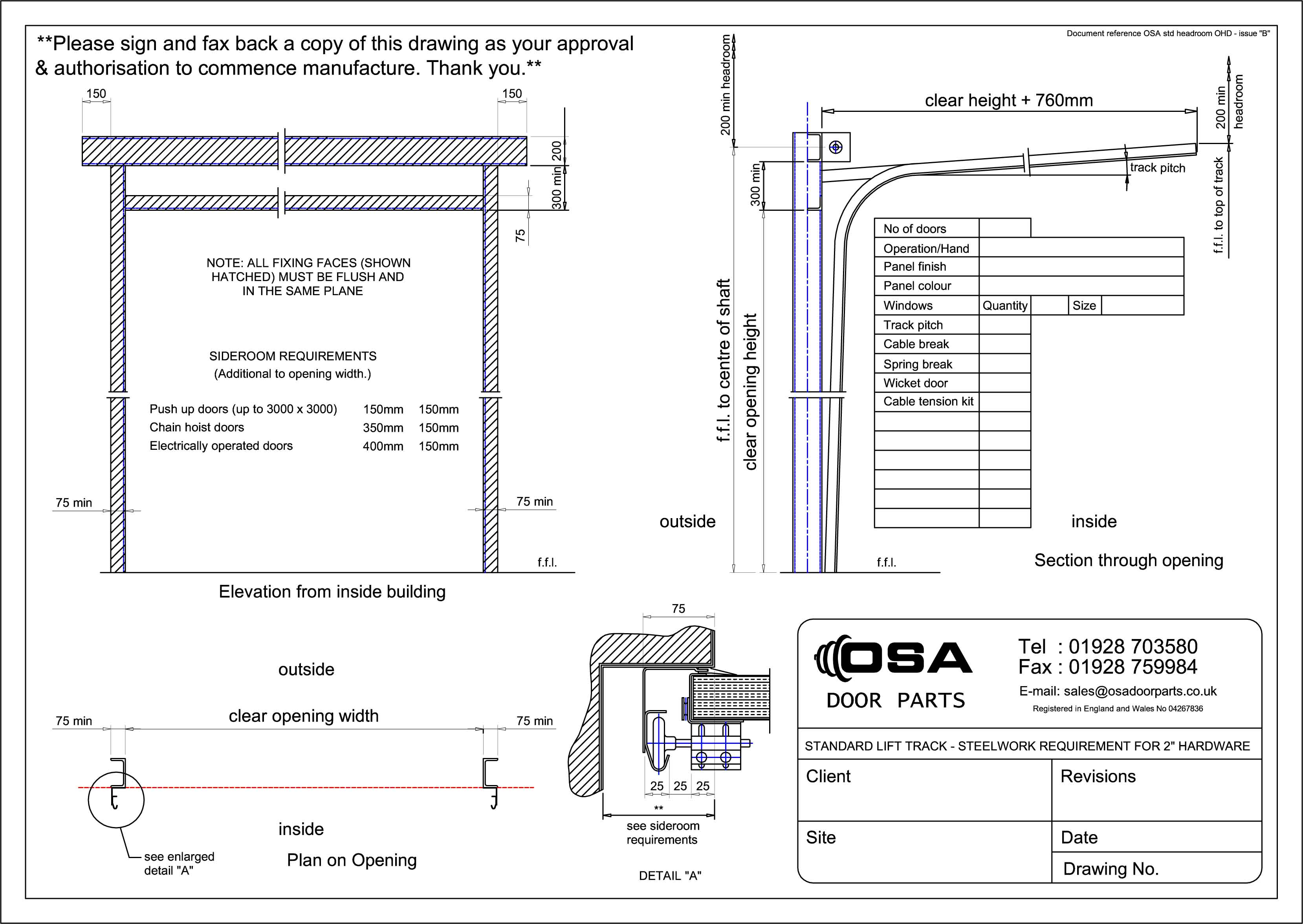Overhead Garage Door Details : Overhead door details garage information begley
